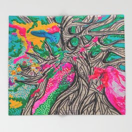Grow Slow Throw Blanket