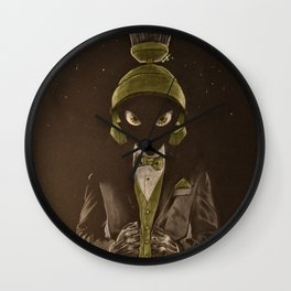 Unfinished Business II Wall Clock