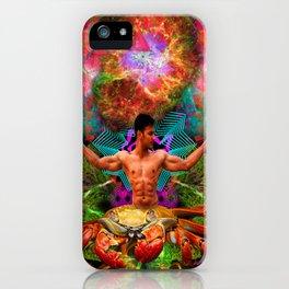 Crab Man Vision iPhone Case