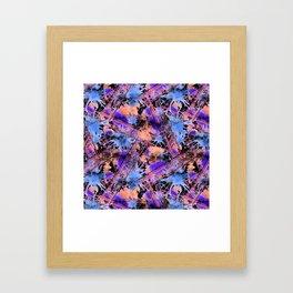 Abstract pattern. Framed Art Print