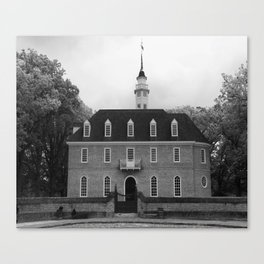 Colonial Williamsburg Capital Canvas Print