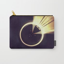 Geometric Art - Shiny Moon Carry-All Pouch