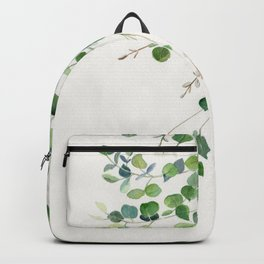 Eucalyptus Watercolor Backpack