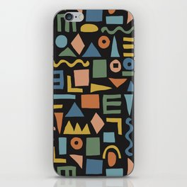 Colorful Shapes iPhone Skin
