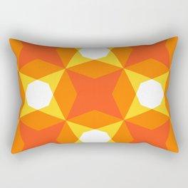 Geofluro #4 Rectangular Pillow