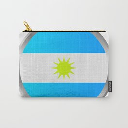 Argentine flag Carry-All Pouch