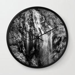 Gentle Cascade Wall Clock