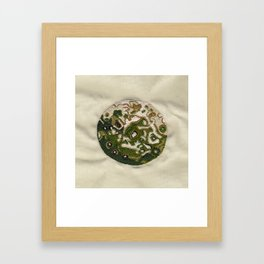 The Other Side of Iapetus Framed Art Print