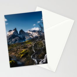 Cuernos del Paine Stationery Cards