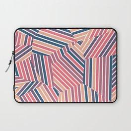 Tequila Sunset - Voronoi Stripes Laptop Sleeve