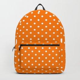 Dots (White/Orange) Backpack