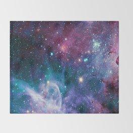 space Nebula Throw Blanket