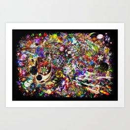 Indefinable Galactic X5(M) Art Print