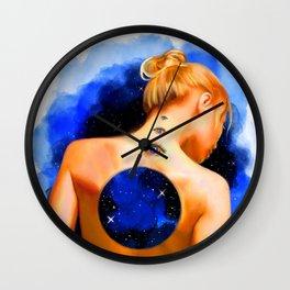 Divine Feminine 2 ( Introspection Has No End ) Wall Clock