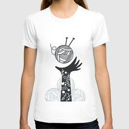Yarn Love - Black T-shirt
