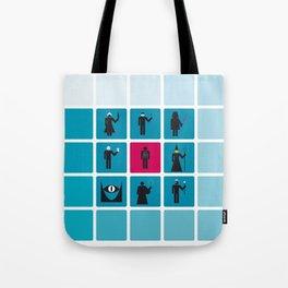 VILLAINS Tote Bag