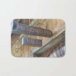 New Orleans Jazz Club Bath Mat