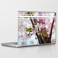 dc Laptop & iPad Skins featuring DC Blossoms by MSheehan