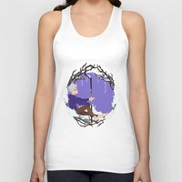 jack frost Tank Tops featuring Jack Frost Circlet by Z Doodle