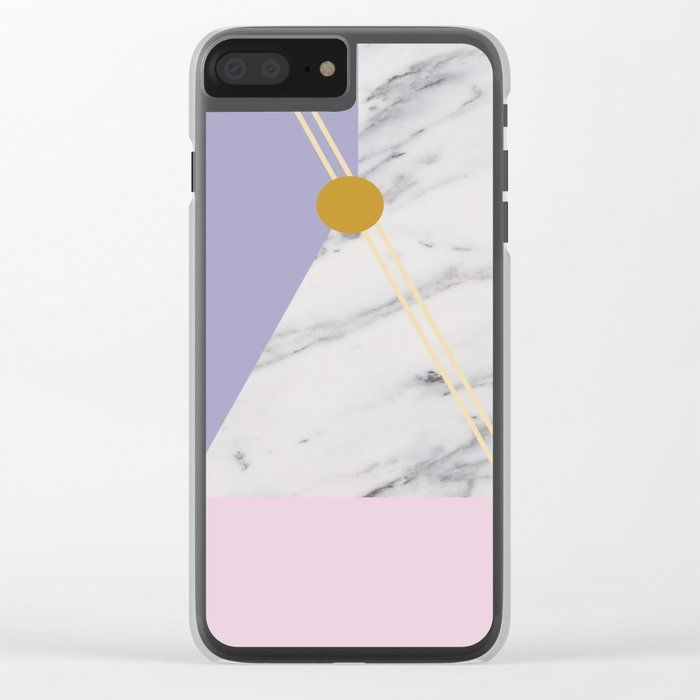 Minimal Complexity v.4 Clear iPhone Case