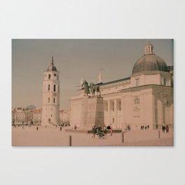 Vilnius city Canvas Print