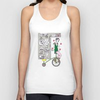 circus Tank Tops featuring Circus by Madmi