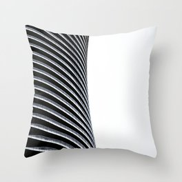 Abstract Architecture Curves Throw Pillow