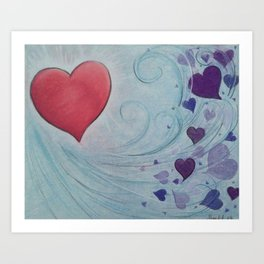 From Love Comes Love Art Print