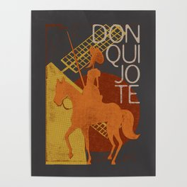 Books Collection: Don Quixote Poster
