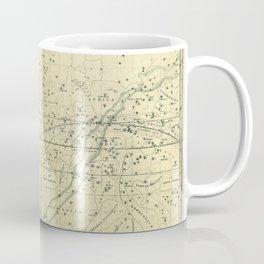A Celestial Planisphere or Map of The Heavens Coffee Mug