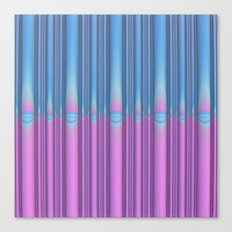 Blue Flame, Pink Flame Canvas Print