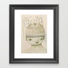 Left Hanging Framed Art Print
