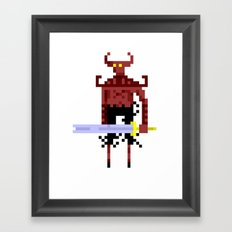 Pixel Devil! Framed Art Print