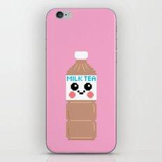 Happy Pixel Milk Tea iPhone & iPod Skin