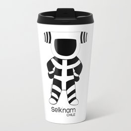 Arte Amara: Selknam People Kotaix Travel Mug
