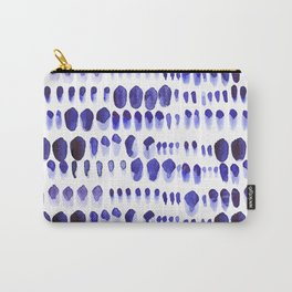 Ultra Violet Paint Splodges Carry-All Pouch