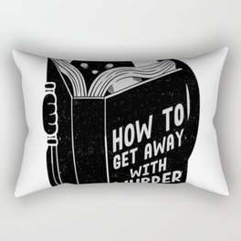 How to get away with murder Rectangular Pillow