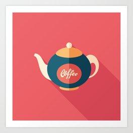 Coffee Kettle Art Print