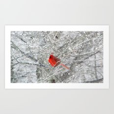 The Heart of Winter Art Print
