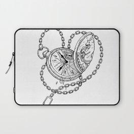 clock Laptop Sleeve