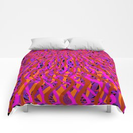rise and fall Comforters