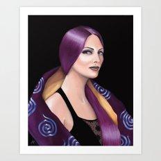 Alexia de Luc Art Print