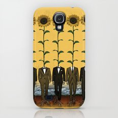 Sunflowers In Suits Print Slim Case Galaxy S4