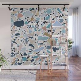 Pastel Terrazzo Wall Mural