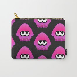 Splatoon Squid Pattern Pink Carry-All Pouch