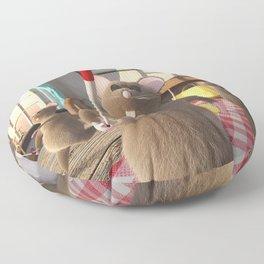 Three Blind Mice - Nursery Rhyme Inspired Art Floor Pillow
