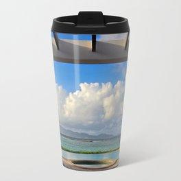Caribbean pool Travel Mug