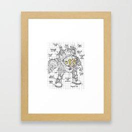 Big Daddy plan Framed Art Print
