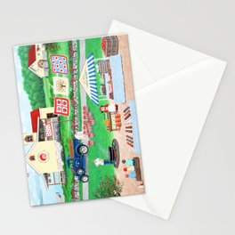 Aunt Abby's Apples Stationery Cards
