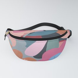 Abstract Floral Fanny Pack
